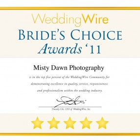 Misty Dawn Photography won award